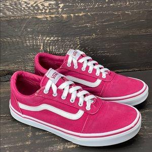 Vans Pink Sneakers Size 6 Missy